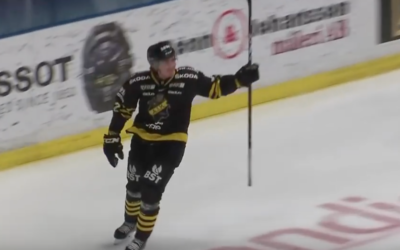 Max Lindholm Scores Hat Trick