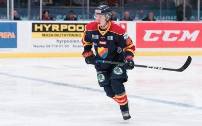 David Bernhardt Signs With Växjö Lakers