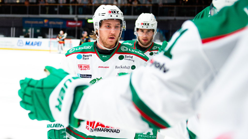 "Linus Sandin Selected to SHL ""Team of the Week"" #15"