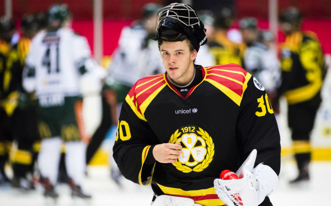 Ersson To Make Tre Kronor Debut