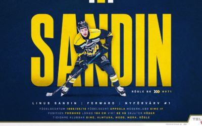 Linus Sandin Signs With HV71