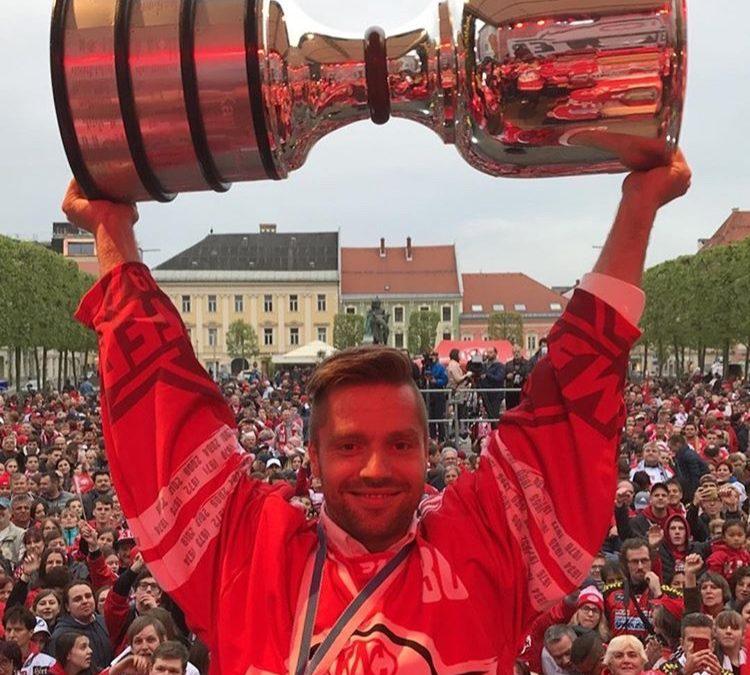 Lars Haugen Wins EBEL Gold
