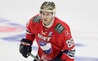 Erik Thorell Signs With EV Zug