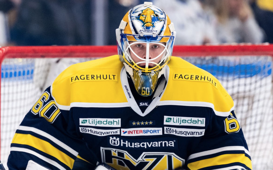 Hugo Alnefelt Signs Contract with HV71
