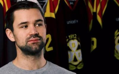 Johan Alcén Celebrates 400 Games With Brynäs IF
