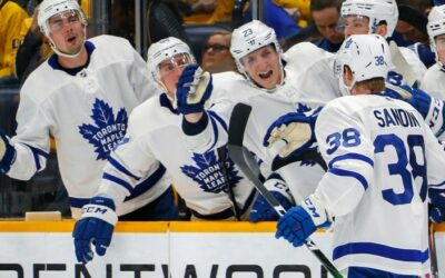 Sandin Scores First NHL Goal